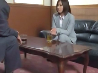 Asian Japanese MILF Secretary
