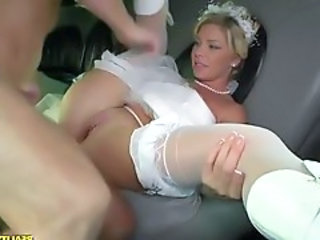 Bride Clothed Hardcore Stockings