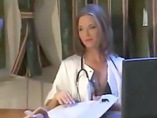 Amazing Cute Doctor MILF Uniform