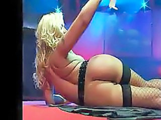 Ass Dancing Fishnet Stripper