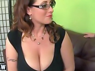Big Tits Glasses MILF Natural