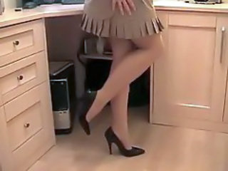 Legs Office Skirt