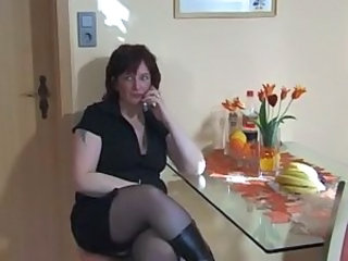 Extreme Mature Mom Stockings