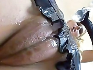 Close up Oiled Pussy