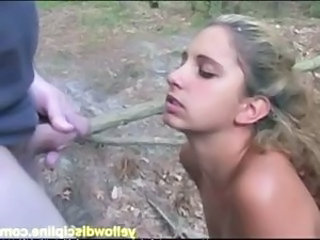 Blowjob Outdoor Teen