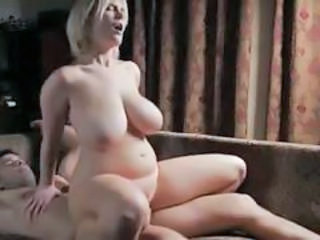 Big Tits Chubby MILF Riding