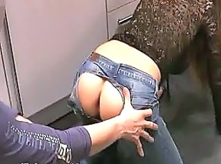 Amateur Ass Doggystyle Fisting Jeans