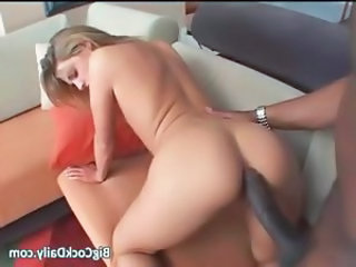 Anal Ass Babe Big cock Doggystyle Hardcore Interracial