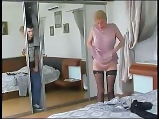 Mom Old and Young Stockings Stripper Voyeur