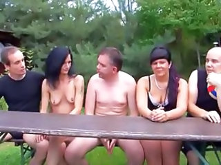 Amateur Groupsex MILF Outdoor Swingers Wife