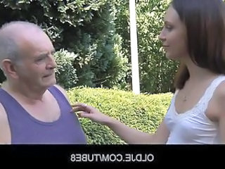 Daddy Daughter Old and Young Outdoor Teen Young