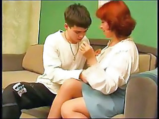 Amateur Mature Mom Older Old and Young Redhead