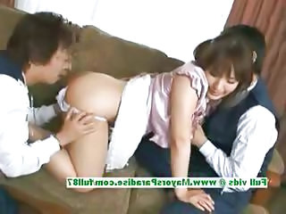 Asian Chinese Teen Threesome
