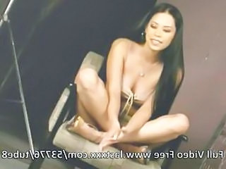 Asian Babe Gangbang Long hair