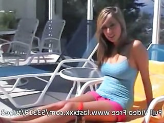 Outdoor Pool Teen
