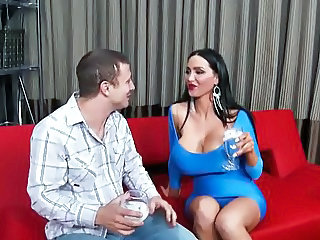 Amazing Big Tits Drunk MILF Old and Young Pornstar