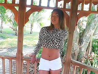 Latina Outdoor Teen
