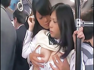 Asian Japanese Lesbian MILF Old and Young Public Student Teen