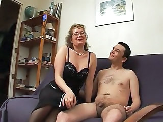 European French Glasses Mature Teacher
