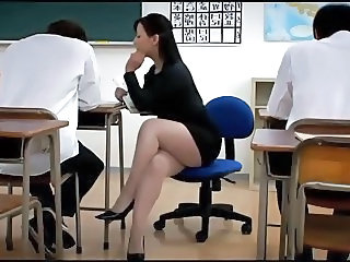 Asian Japanese Legs MILF School Teacher