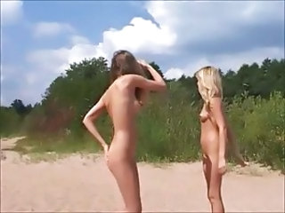 Beach Nudist Teen