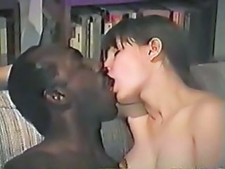 Interracial Kissing Teen Vintage