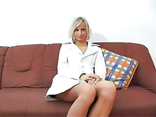 Casting European German MILF