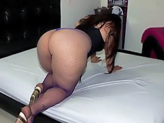 Cul Joufflue Latina MILF Collants Pornstar
