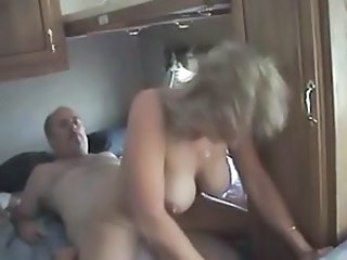 Amateur Big Tits Homemade Older Riding Wife