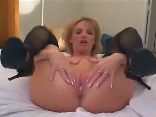 Creampie MILF Stockings
