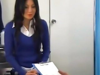 Asian Creampie Doctor  Voyeur