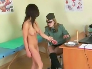Army Brunette Teen Uniform