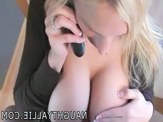 Naughty Allie - Titty Fucking Feeling of excitement Sex