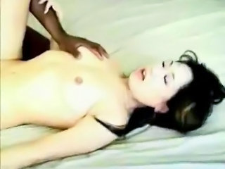 Amatør Asiatisk Interracial MILF Vintage
