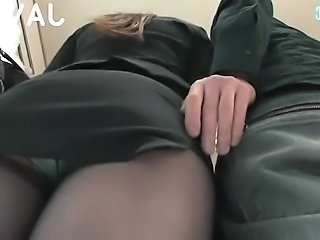 Asian Japanese Pantyhose Upskirt
