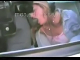Amateur Blowjob Car Clothed Interracial