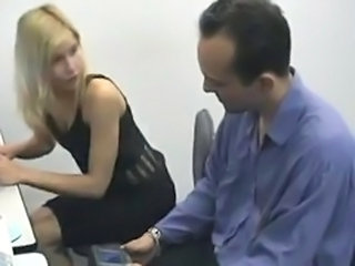 Blonde Brazilian Latina Office Teen