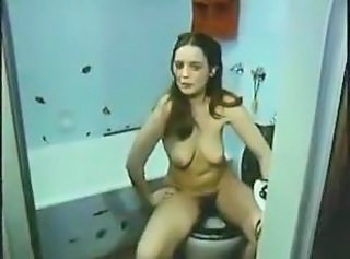 Bathroom European German Hairy MILF SaggyTits Vintage