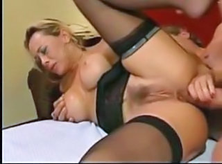 Anal European Hairy Italian MILF Stockings