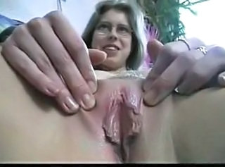 Clit Close up Hairy MILF Pussy