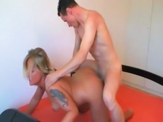 Amateur Doggystyle European German Hardcore MILF Tattoo