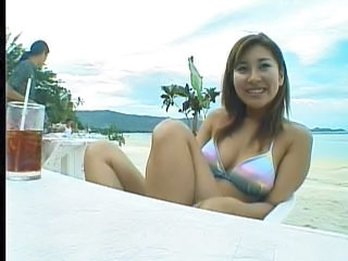 Asian Beach Bikini Outdoor Public Teen
