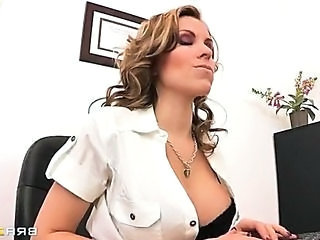 Big Tits MILF Office Secretary