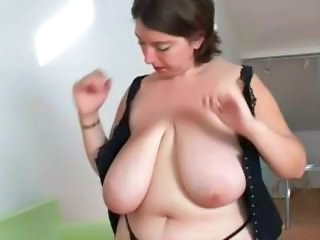 BBW Big Tits Chubby Mature Natural SaggyTits
