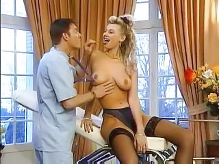 Doctor MILF Pornstar Stockings