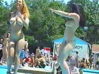 Amateur Dancing Outdoor Party Public