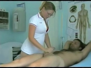 Big Tits Bus Handjob Natural Nurse Uniform