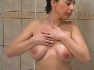 Bathroom Mature SaggyTits