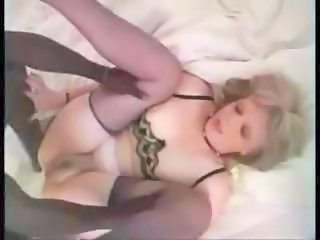 Amateur Homemade Interracial Mature MILF Stockings Wife