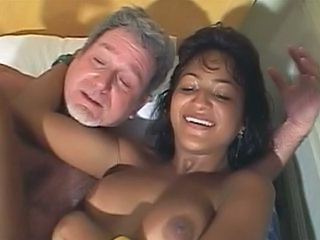 Daddy Interracial Latina Old and Young Teen